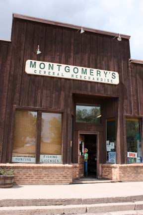 Montgomery's General Store in Yampa, Colo. Photo: Jennie Lay
